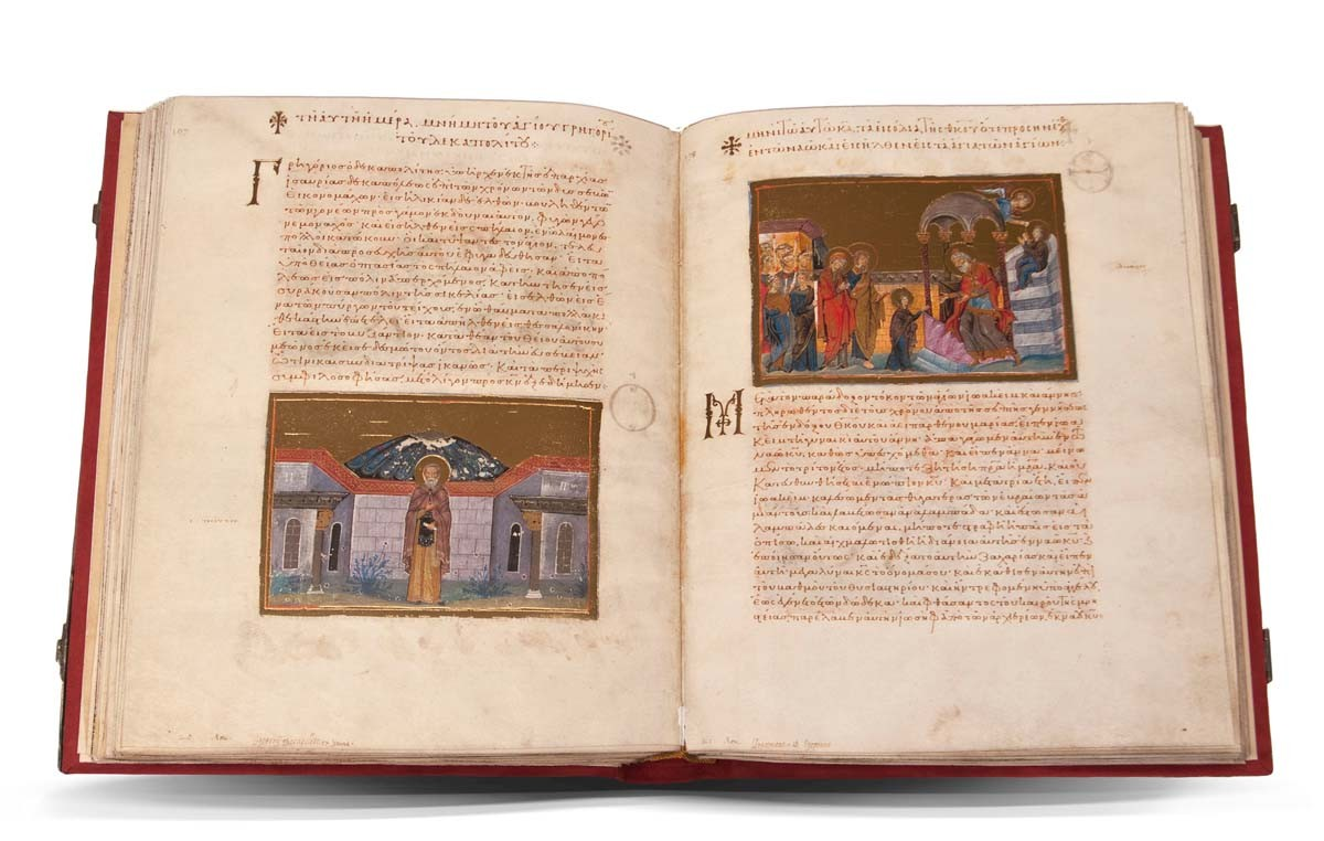 Facsímil El Menologio de Basilio II