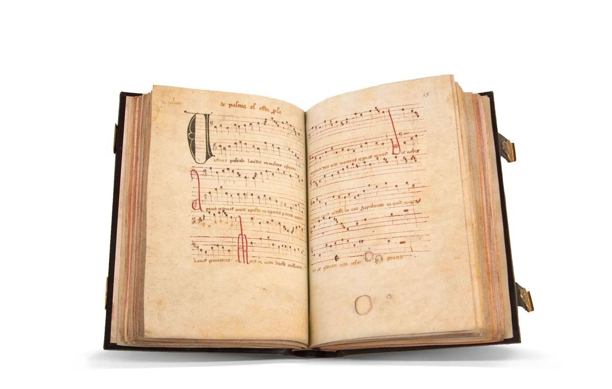 Facsímil Códice Musical de Las Huelgas