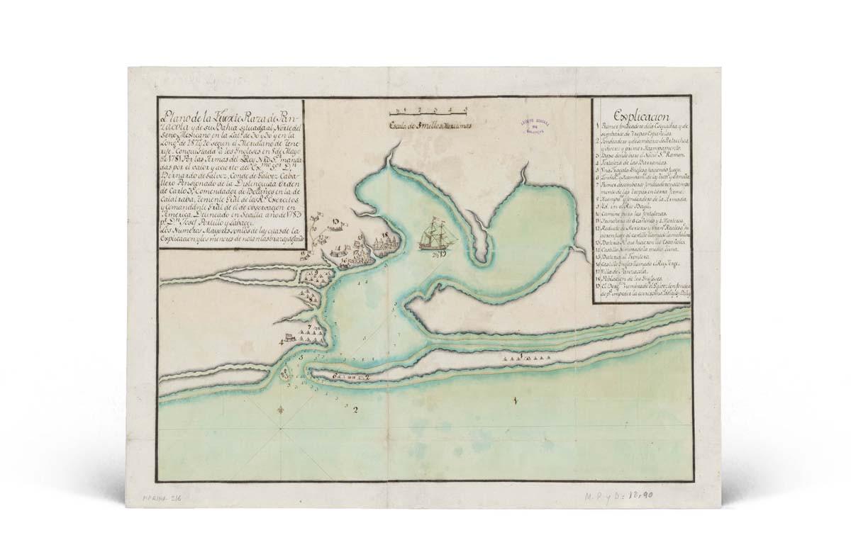Mapa de Pensacola
