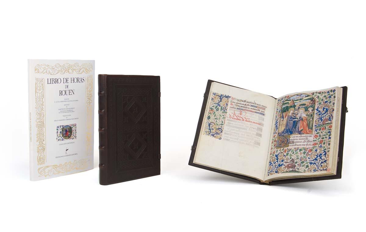 Facsímil Libro de Horas de Rouen