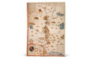 Mapa del Río Misisipi